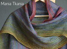 Hand woven scarf/wrap | Mania Tkania