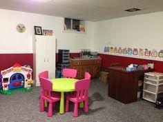 Daycare playroom