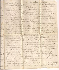 Civil War letter of John King to his brother. page 3