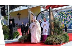 Pope Francis celebrates Holy Mass in Tbilisi - AFP