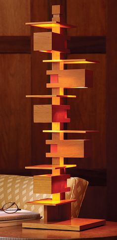 Frank Lloyd Wright Taliesin Lamp