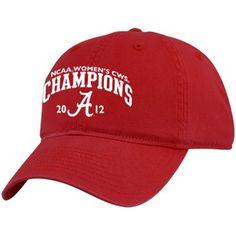 Top of the World Alabama Crimson Tide 2012 NCAA Women's Softball College World Series Champions Slouch Adjustable Hat - Crimson $21.95