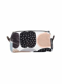 Taimi-kosmetiikkalaukku (valkoinen, ruskea, musta) | Laukut & asusteet, Laukut, Kosmetiikkalaukut | Marimekko Marimekko, Cosmetic Bag, Bag Accessories, Latest Fashion, Zip Around Wallet, House Design, Cosmetics, My Style, Polyvore