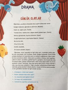 This Pin was discovered by Şul Kindergarten Activities, Preschool Activities, Philosophy For Children, Drama Activities, Turkish Lessons, Skirt Mini, Learn Turkish, Islam For Kids, Turkish Language