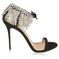 GIUSEPPE ZANOTTI Carrie Crystal Heeled Sandals