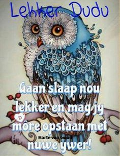 Good Night Blessings, Good Night Wishes, Good Night Quotes, Goeie Nag, Goeie More, Quotes For Whatsapp, Afrikaans Quotes, Good Night Image, Special Quotes