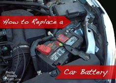 How to replace a car battery - everybody who has a car needs to know how to do this.  #household #automotive #tip