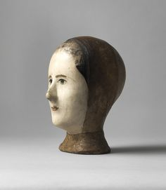 Particularly Fine and Sensitive Early Milliner's Head - Robert Young Antiques