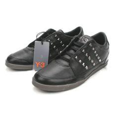 Y-3 Yohji Yamamoto Adidas studded leather sneakers 6.5/6/245 NEW Y3 Honja shoes