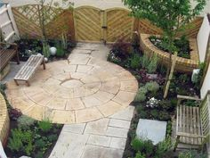 Ideas for paving stones in the backyard