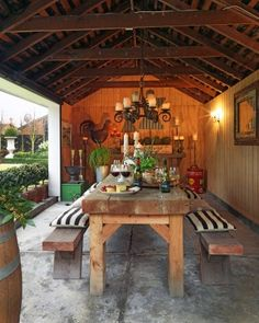 "CANTERBURY: The Shed, Clare and Philip Beer's winning entry in the 2013 awards, was originally a garage. It took only four weeks to convert to a sociable hub, with wooden panelling lining the walls, a wooden shingle roof and antique wall lights. And what a success it's been: ""Many a yarn has been told and much laughing has been done over many a roast meal and copious glasses of wine,"" says Clare."