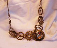 Collier vieille montre par SteampAddict sur Etsy, $48.00