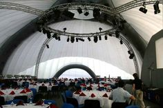 24M #DOME #GALA #DINNER  #Inflatable #Temporary #Structure #Events http://www.brandinteractivation.com/