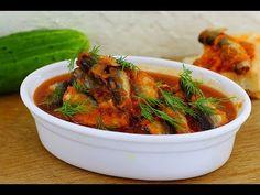 Салака в томате - кулинарный рецепт