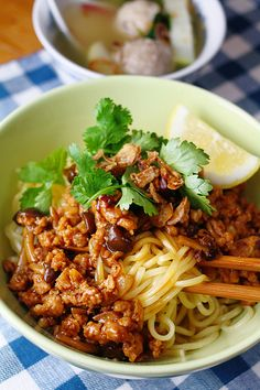 Mie Ayam Bakso - Indonesian Dry Chicken Noodle with Beef Ball Noodle Recipes, Pork Recipes, Cooking Recipes, Indonesian Cuisine, Indonesian Recipes, Malaysian Food, Pork Belly, Chinese Food, Lasagna