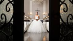 Beautiful real wedding inside the Chapel at Piazza on the Green, captured by Loyal Media Group