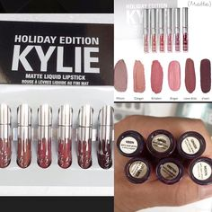 Set of 6 Liquid Matte Lipsticks Available!!! Buy directly from our website www.shop101.com/vanitystore