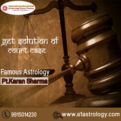 Get Solution Of Court Case. Please visit us- www.a1astrology.com