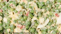 Granny's Pea Salad.... https://grannysfavorites.wordpress.com/2016/10/23/grannys-pea-salad-9/