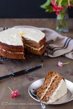 Best ever carrot cake - Gluten Free Carrot Cake recipe via @ledelicieux www.ledelicieux.com