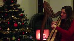 """""""The Holly and the Ivy"""" - Celtic Harp&Voice"""