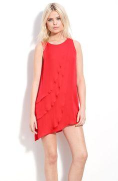 Parker 'Petal' Silk Dress