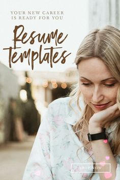 Let us know how we can help you to achieve success by ResumeFoundry Microsoft Word Resume Template, Modern Resume Template, Creative Resume Templates, Cv Template, Resume Tips, Resume Examples, Resume Words, References Page, Achieve Success
