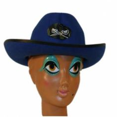 Cowboyhoed Blauw