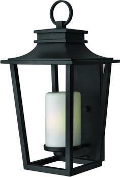 0-009378>Sullivan 1-Light Outdoor Wall Light Black