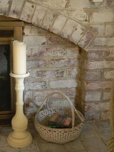 Whitewashed Brick | The Painted Drawer by delia