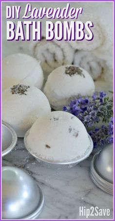 Make your own fragrant and fizzy Bath Bombs at home for a FUN and easy DIY project! Fizzy Bath Bombs, Homemade Bath Bombs, Lush Bath Bombs, Bath Bomb Recipes, Soap Recipes, Lavendar Bath Bombs, Bath Boms Diy, Lip Scrub Homemade, Homemade Soaps