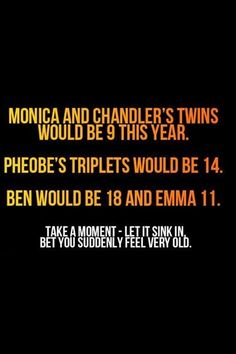 Yup i feel so old!