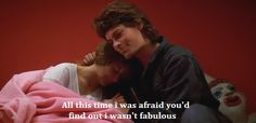 St. Elmo's Fire // all this time i was afraid you'd find out i wasn't fabulous