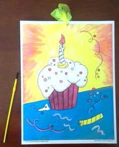 Painting Activity kit for 8 for children's parties (adults like it also). Can be used as your goody bag gift too. You get a full color painted image and 8 black outlined images on quality water color paper. Step by Step instructions, paints and 8 brushes and a ribbon to hang your projects.  $19.99 each kit. Matching Invitations and additional painting sheets available separately.  To order: http://www.smilingshamrock.com/product-category/art-kits