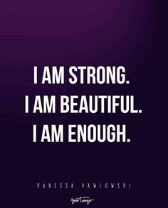 I Am Strong Quotes, Life Quotes Love, Pretty Quotes, Self Love Quotes, Words Quotes, Me Quotes, I Am Beautiful Quotes, Sayings, Body Positive Quotes