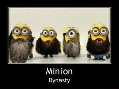 I love Minions. Minion Dynasty is even better! for my certain friend who loves duck dynasty lol. Amor Minions, Minions Love, My Minion, Minion Stuff, Minion Humor, Evil Minions, Minions Quotes, Funny Minion, Minion Sayings