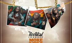 "Rootikal Swagger - More Vim (Hoo Haa) Another dancehall tune after ""Jah Nuh Lie"" from the Vibration Recordz headline act Rootikal Swagger and this one is Latest Music, Be Yourself Quotes, Audio, Stay Focused, Songs, Blind, Ears, Movie Posters, Youth"