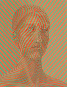 3 | The Patterned Pathologies Of Sascha Braunig's Portraits | Co.Design: business + innovation + design