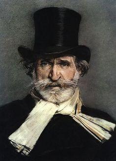 Verdi, by Giovanni Boldini, 1886. One of my favorite portraits.