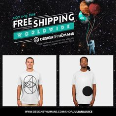 FREE SHIPPING WEEKEND! http://www.designbyhumans.com/shop/julianajuice/