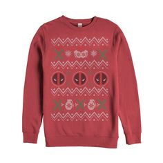 #Christmas Extra Info Marvel Women's Deadpool Ugly Christmas Sweater Red Sweatshirt for Christmas Gifts Idea Sales . When you make a abrasive set of solutions to obtain this particular Christmas . Organizing precisely what you may buy, deciding the amount of you may spend, in addition to understanding the best time ...