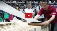 SCG VIRALS: Thinnest Wood Shavings You Have Ever Seen - Japanese (3 Videos)