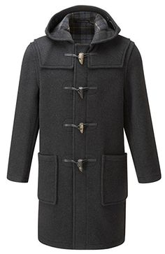 Original Montgomery Mens Duffle Coat -- Toggle Coat at Amazon Men's Clothing store: Wool Outerwear Coats