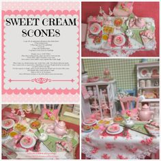 Ribbonwood Cottage: A little Cottage Style Tea and Scones Party Affair!