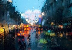 Rainy Photography - looks like an oil painting