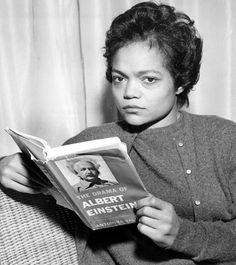 Eartha Kitt/Albert Einstein - Celebrities reading about celebrities.