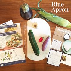 Freshies from last night's dinner — my first @BlueApron experience was a success! The meal was colorful, simple, #nutritious and delicious. Add to that, fun to prepare! Along with encouraging seasonal eating, Blue Apron has direct relationships with #local #farmers who are committed to #sustainable practices. Check out their tutorials on cooking techniques and free #recipes online.