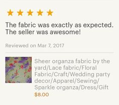 Another happy customer.  #fabric #sew #sewing #handmade #etsy #epiconetsy #etsymntt #shop #craft #diy #craftshout #craftbuzz #fabricinabox