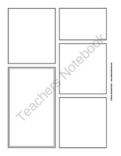 Create-Your-Own Comic Strip Templates—Pack of Seven, FREE!