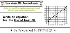 Unit 4 -  Bivariate Data: Scatter Plots and Two-way Tables